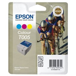 EPSON T005 cartuccia originale per stylus color 900 900n 980 980n