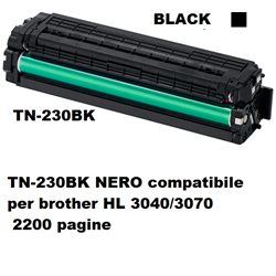 TN-230BK NERO compatibile per brother HL 3040/3070 2200 pag