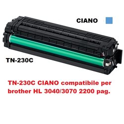 TN-230C CIANO compatibile per brother HL 3040/3070 2200 pag