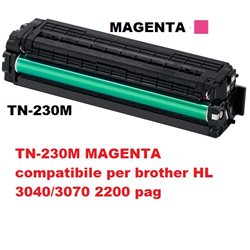 TN-230M MAGENTA compatibile per brother HL 3040/3070 2200 pag