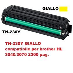 TN-230Y GIALLO compatibile per brother HL 3040/3070 2200 pag