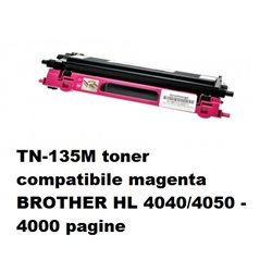 TN-135M toner compatibile magenta per BROTHER HL 4040/4050 - 4000 pagine