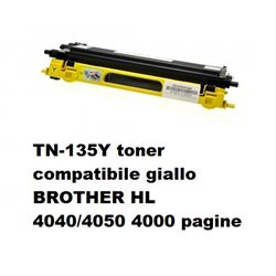 TN-135Y toner compatibile giallo per BROTHER HL 4040/4050 4000 pagine