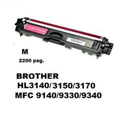 TN-245M toner magenta per BROTHER HL3140/3150/3170 MFC 9140/9330/9340 2200 pagine