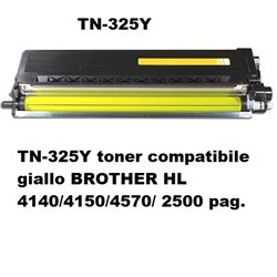 TN-325Y toner compatibile giallo per BROTHER HL 4140/4150/4570/ 2500 pag.