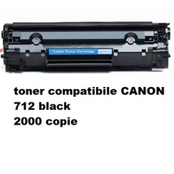toner compatibile CANON 712 black 2000 copie
