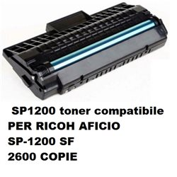 SP1200 toner compatibile PER RICOH AFICIO SP-1200 SF - 2600 COPIE