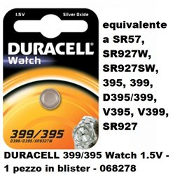DURACELL 399/395 Watch 1.5V - Blister 1pz.