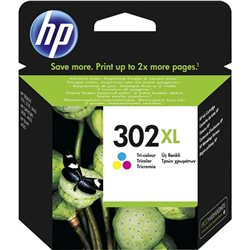 cartuccia HP 302XL tricolor F6U67AE alta capacita' 330 pagine