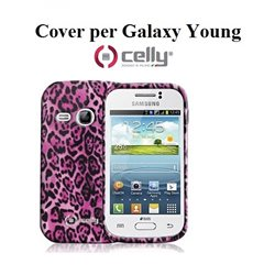 GALAXY YOUNG Cover per Smartphone Celly texture animalier alta definizione