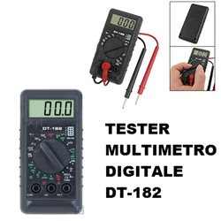 MULTIMETRO DIGITALE TESTER DT-182