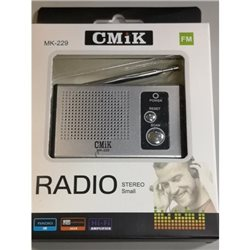 RADIO MINI DA TASCA MK-229 FM AM DIGITALE