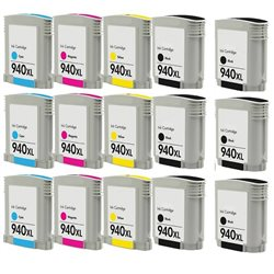 Multipack 15 cartucce compatibili HP 940XL per Hp OfficeJet PRO 8000 , 8500 series