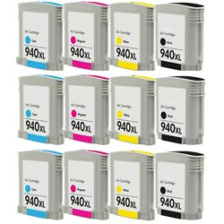 Multipack 12 cartucce compatibili HP 940XL per Hp OfficeJet PRO 8000 , 8500 series