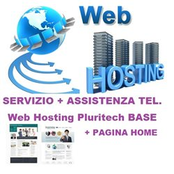 web hosting base + pagina home