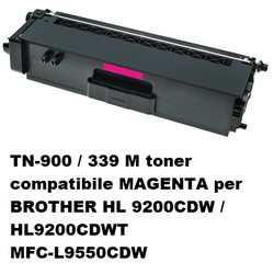 TN-900 / 339 M toner compatibile MAGENTA per BROTHER HL 9200CDW / HL9200CDWT MFC-L9550CDW