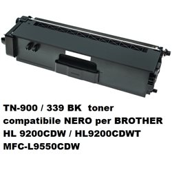 TN-900 / 339 BK toner compatibile NERO per BROTHER HL 9200CDW / HL9200CDWT MFC-L9550CDW