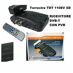 Ricevitore Digitale Terrestre CON HDMI USB E SD PLAY