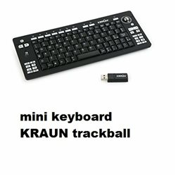 mini keyboard KRAUN trackball