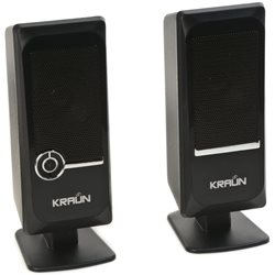 KRAUN ICE SPEAKER - LICORICE (BLACK)