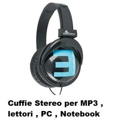 Cuffie Stereo per MP3 , CD , PC , Notebook