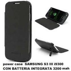 power case SAMSUNG S3 III i9300 CON BATTERIA INTEGRATA 3200 MAH