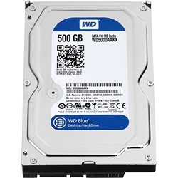 HARD DISK WESTERN DIGITAL 500GB SATA 3,5 WD5000AAKX 7200 RPM, 6 GB/s, 16 MB