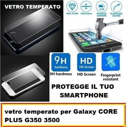 vetro temperato per Galaxy CORE PLUS G350 3500