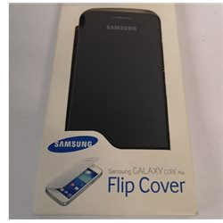 SAMSUNG FLIP COVER Galaxy Core Plus originale NERO