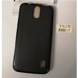 Huawey Ascend Y625 cover in materiale morbido nera