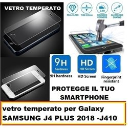 vetro temperato per Galaxy J4 PLUS 2018 -J410