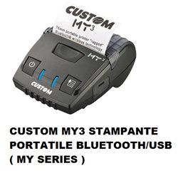 CUSTOM MY3 STAMPANTE PORTATILE BT/USB ( MY SERIES )
