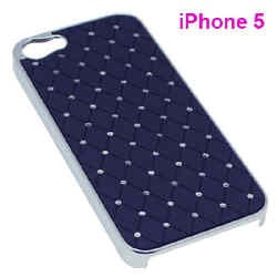 Custodia compatibile iPhone 5 con perline