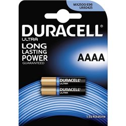 Duracell MN2500/E96 ( AAAA ) 1.5V Security - Blister 2pz- 041660