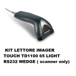 KIT LETTORE IMAGER TOUCH TD1100 65 LIGHT RS232 WEDGE ( scanner only)
